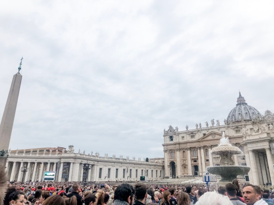 Sunday Papal audience