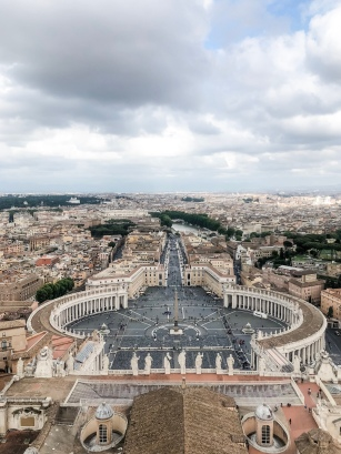View from St. Peter's Dome